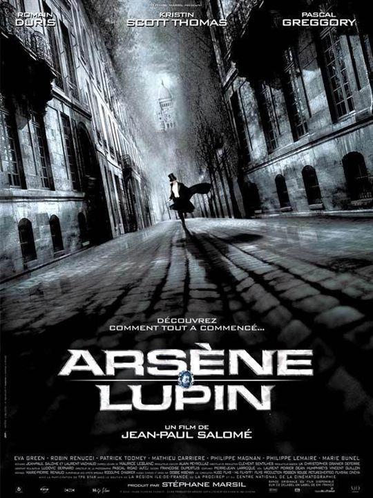 Arsène Lupin : affiche Jean-Paul Salomé