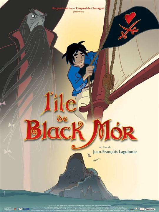 L'île de Black Mór : Affiche Jean-François Laguionie