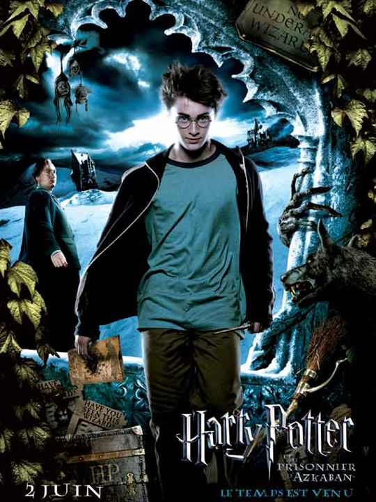 Affiche du film harry potter et le prisonnier d 39 azkaban for Espejo harry potter