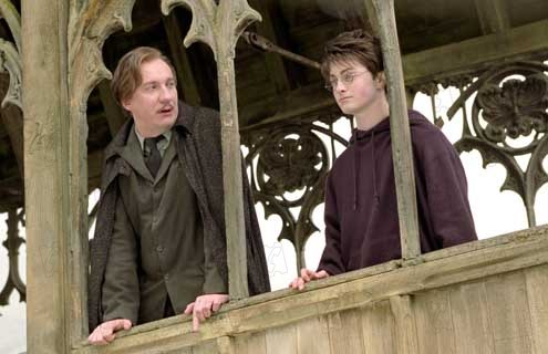 Harry Potter et le Prisonnier d'Azkaban : Photo Daniel Radcliffe, David Thewlis