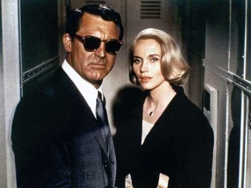 La Mort aux trousses : Photo Cary Grant, Eva Marie Saint