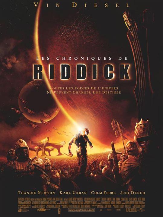 Les Chroniques de Riddick : Affiche David Twohy