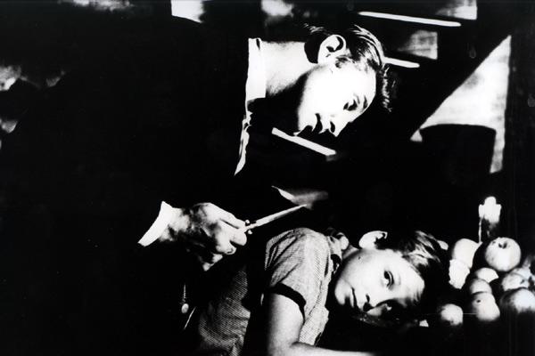 La Nuit du chasseur : Photo Billy Chapin, Charles Laughton, Robert Mitchum