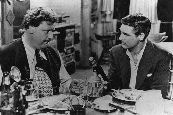 On murmure dans la ville : Photo Cary Grant, Joseph L. Mankiewicz, Walter Slezak