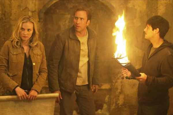 Benjamin Gates et le Trésor des Templiers : Photo Diane Kruger, Justin Bartha, Nicolas Cage