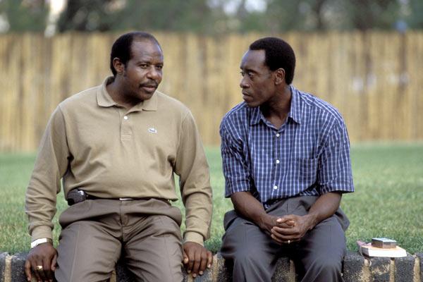 Hotel Rwanda : Photo Don Cheadle, Paul Rusesabagina, Terry George