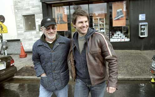 La Guerre des Mondes : Photo Steven Spielberg, Tom Cruise