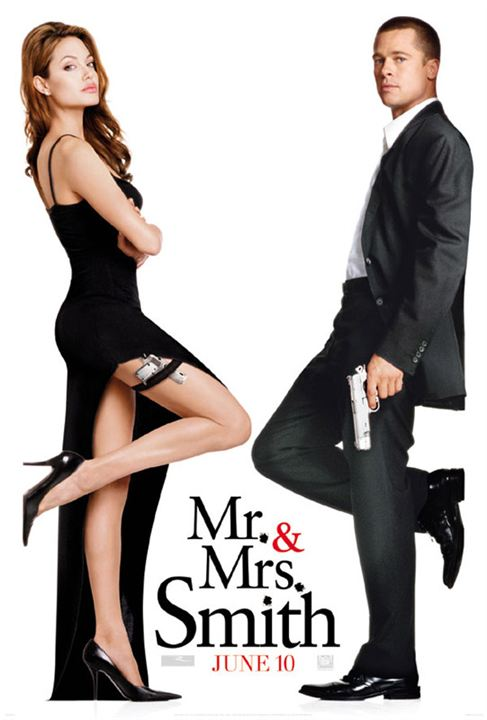 Mr. & Mrs. Smith : Affiche