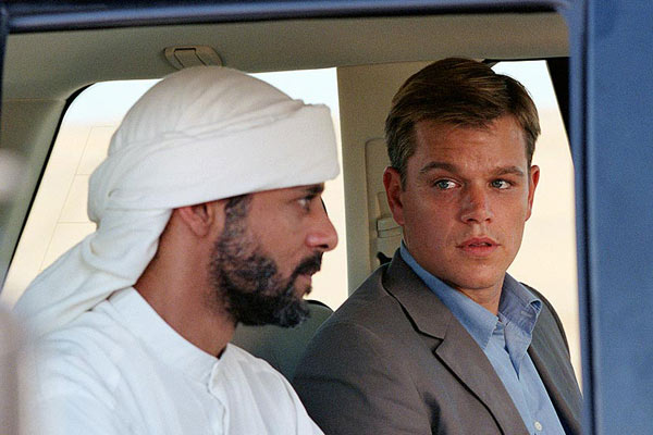 Syriana : Photo Alexander Siddig, Matt Damon, Stephen Gaghan