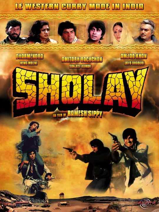 Sholay : Affiche Ramesh Sippy
