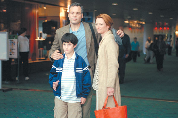 Age Difficile Obscur : Photo Chase Offerle, Mike Mills, Tilda Swinton, Vincent D'Onofrio