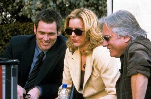 Braqueurs amateurs : Photo Dean Parisot, Jim Carrey, Tea Leoni