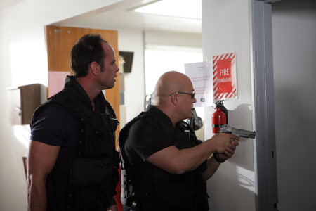 The Shield : Photo Michael Chiklis, Walton Goggins