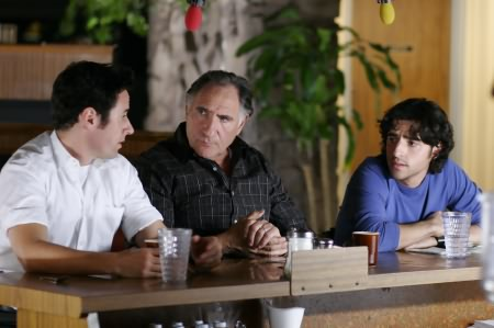 Numb3rs : Photo David Krumholtz, Judd Hirsch, Rob Morrow