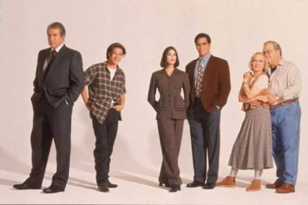 Loïs et Clark, les nouvelles aventures de Superman : Photo Dean Cain, Eddie Jones, Justin Whalin, K Callan, Lane Smith