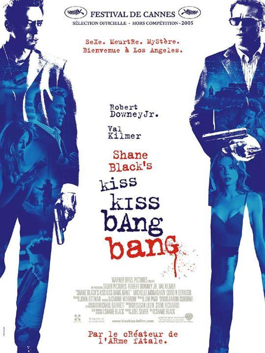 Kiss kiss, bang bang : affiche