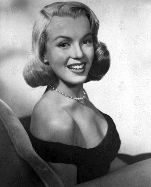 Quand la ville dort : Photo John Huston, Marilyn Monroe