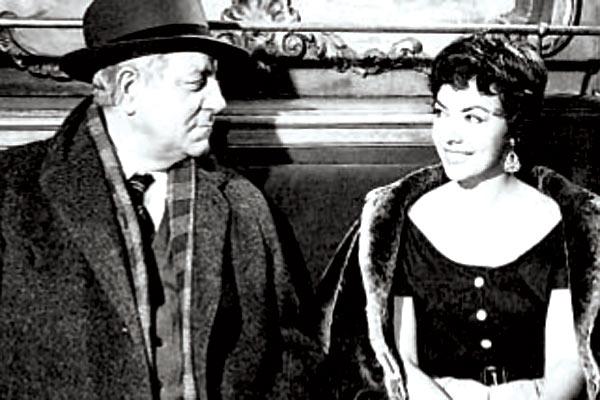 Maigret et l'affaire Saint-Fiacre : Photo Jean Delannoy, Jean Gabin, Micheline Luccioni