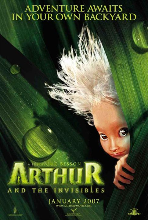 Arthur et les Minimoys : Affiche