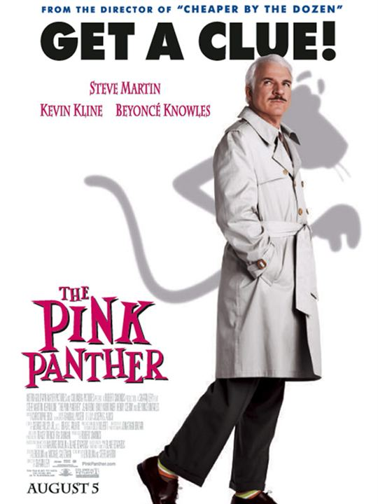 La Panthère Rose : Affiche Steve Martin