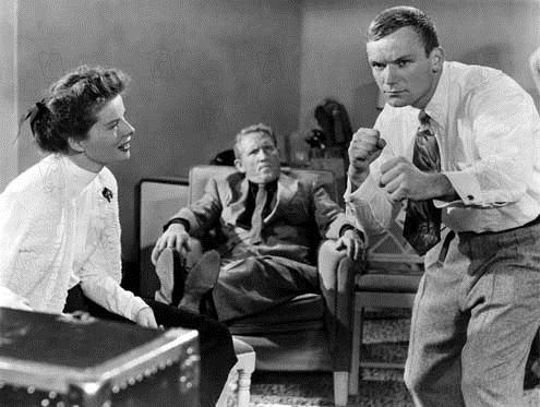 Mademoiselle Gagne-Tout : Photo Aldo Ray, Katharine Hepburn, Spencer Tracy