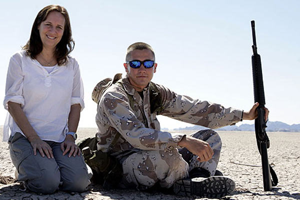 Jarhead - la fin de l'innocence : Photo Jake Gyllenhaal, Lucy Fisher