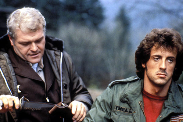Rambo : Photo Brian Dennehy, Sylvester Stallone