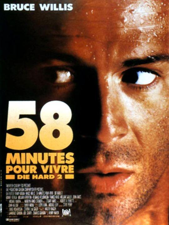58 minutes pour vivre : Affiche Renny Harlin
