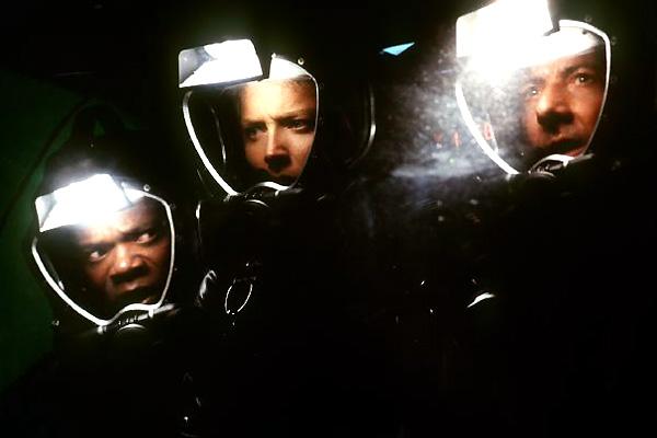 Sphere : Photo Dustin Hoffman, Samuel L. Jackson, Sharon Stone