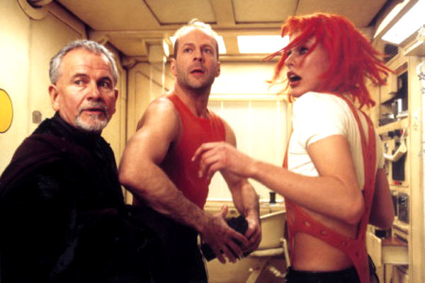 Le Cinquième élément : Photo Bruce Willis, Ian Holm, Milla Jovovich