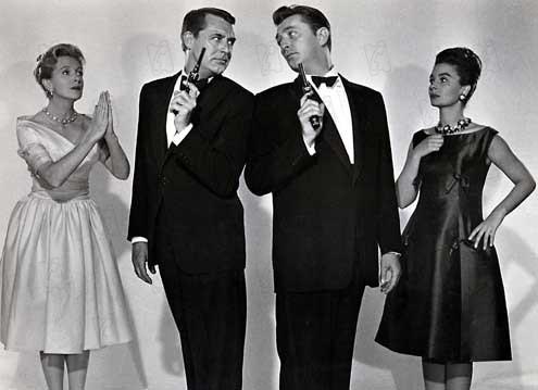 Ailleurs l'herbe est plus verte : Photo Cary Grant, Deborah Kerr, Jean Simmons, Robert Mitchum, Stanley Donen