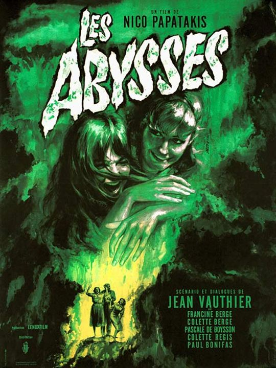 Les Abysses : affiche Nico Papatakis