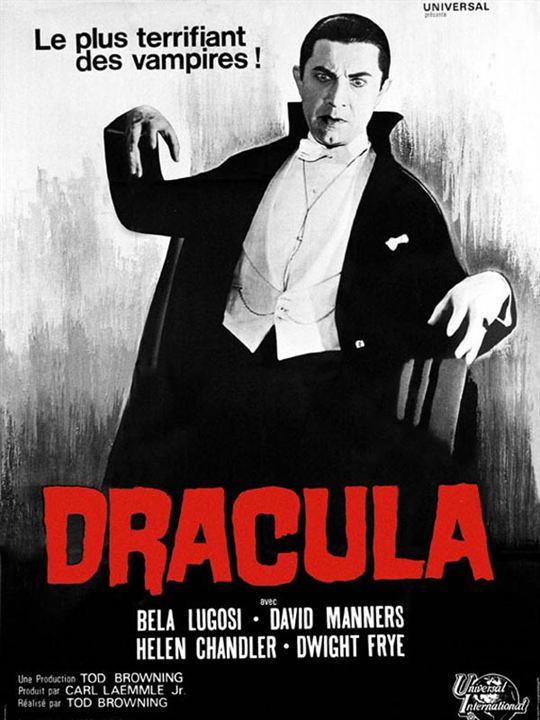 Dracula : Affiche Bela Lugosi, Tod Browning
