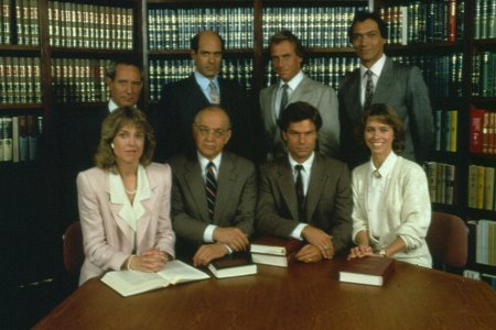 La Loi de Los Angeles : Photo Alan Rachins, Corbin Bernsen, Harry Hamlin, Jill Eikenberry, Jimmy Smits