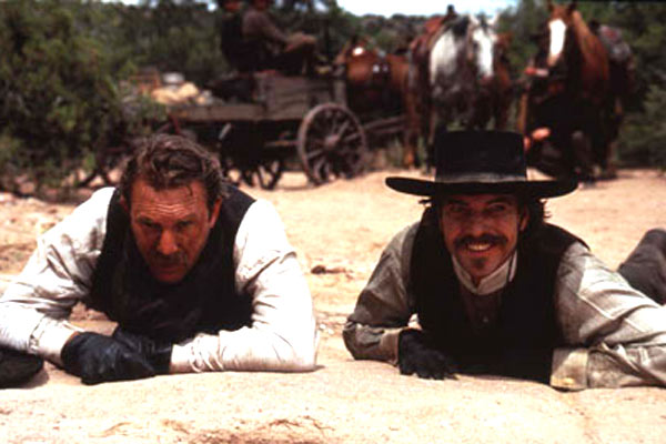 Wyatt Earp : Photo Dennis Quaid, Kevin Costner, Lawrence Kasdan