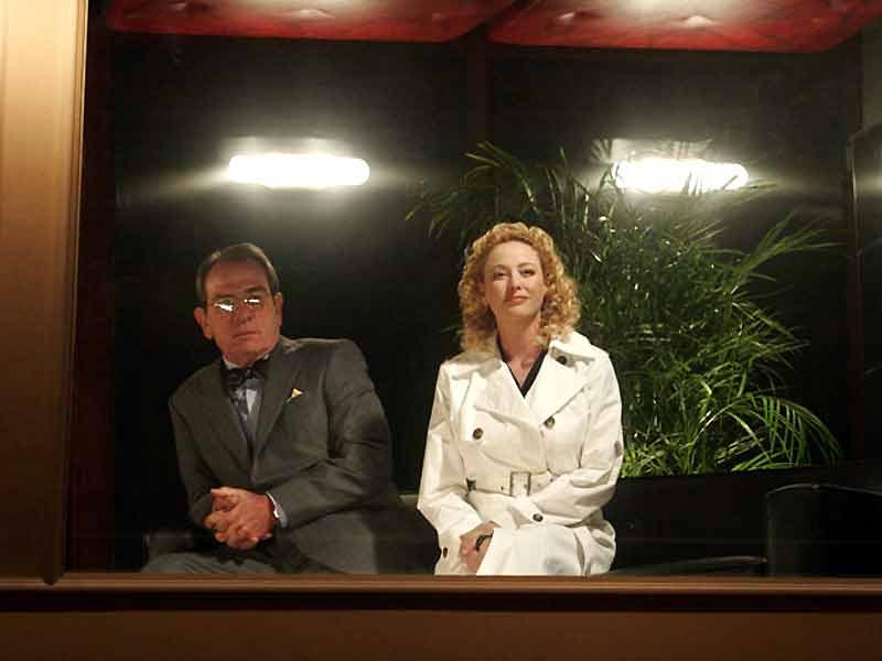 The Last Show : Photo Robert Altman, Tommy Lee Jones, Virginia Madsen