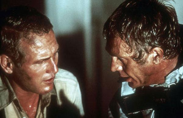 La Tour infernale : Photo Irwin Allen, John Guillermin, Paul Newman, Steve McQueen