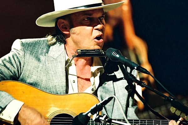 Neil Young : Heart of Gold : photo Jonathan Demme, Neil Young