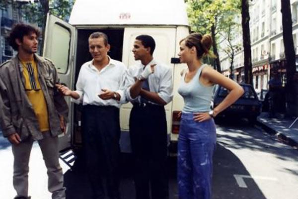 Le Déménagement : Photo Dany Boon, Marine Delterme, Sami Bouajila, Serge Hazanavicius