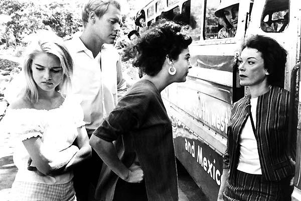 La Nuit de l'iguane : Photo Ava Gardner, Grayson Hall, John Huston, Sue Lyon