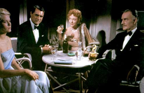 La Main au collet : Photo Cary Grant, Grace Kelly, Jessie Royce Landis, John Williams