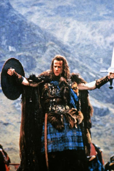 Highlander : Photo Christophe Lambert, Russell Mulcahy