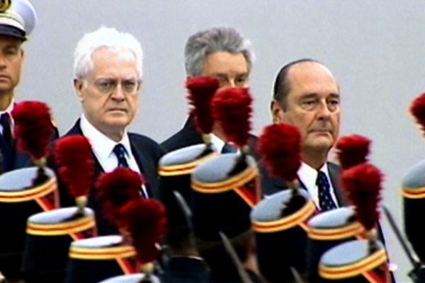 Dans la peau de Jacques Chirac : Photo Jacques Chirac, Karl Zéro, Lionel Jospin, Michel Royer