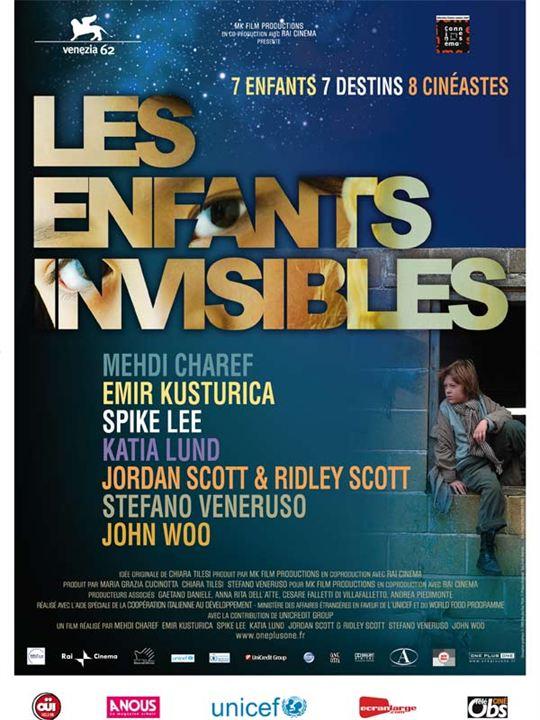 Les Enfants invisibles : Affiche John Woo, Jordan Scott, Kátia Lund, Mehdi Charef, Stefano Veneruso