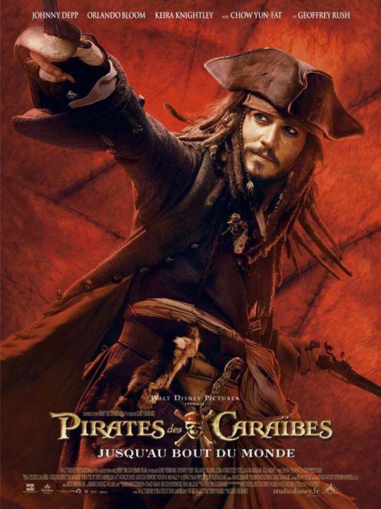 Pirates des Caraïbes : Jusqu'au Bout du Monde : Affiche Johnny Depp