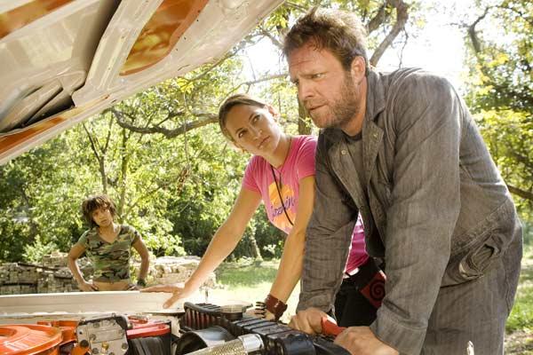 Boulevard de la mort - un film Grindhouse : Photo Jonathan Loughran, Sydney Tamiia Poitier, Tracie Thoms, Zoë Bell