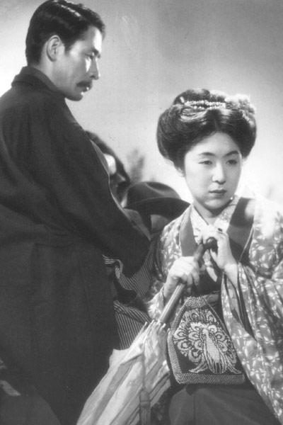 L'Amour de l'actrice Sumako : Photo Kinuyo Tanaka, Sô Yamamura