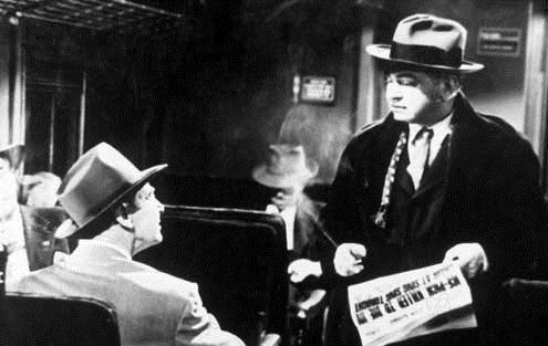 La Rue rouge : Photo Edward G. Robinson, Fritz Lang