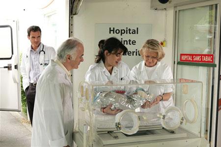 Équipe médicale d'urgence : Photo Fanny Gilles, Yan Duffas