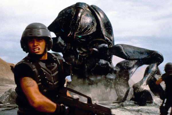 Starship Troopers : photo Casper Van Dien, Paul Verhoeven